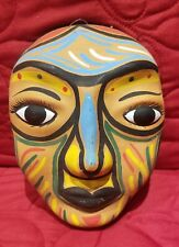 Colorful wall mask