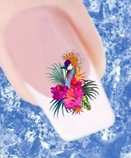 20 Nail Tattoos Flamingo Palmen Sommer 251 Sticker Nailart