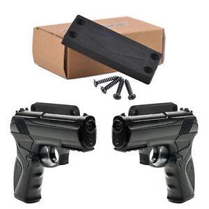 Gun Magnetic Holder Car Desk Wall Concealed Magnet Holder Mount 4 Pistol Gun