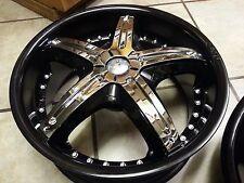 18 inch Dvinci Attivo Chrome wheel Rims inserts 5 pieces NEED WHEELS? WE HAVE