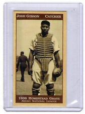 1938 Josh Gibson, Homestead Grays Negro League black Babe Ruth mint condition