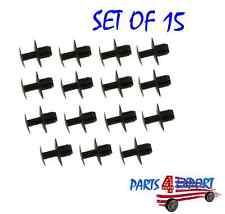 NEW Mercedes W116 W123 W124 R129 W140 O.E.M. Push-Pin Rivet For Hood Pad Set 15