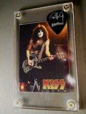 LOOK - Paul Stanley promo guitar pick / card display with stand - Great Gift!!!