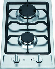 Ramblewood Green LPG/Propane Gas 2 Burner Cooktop, GC2-43P