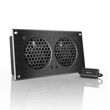 "AIRPLATE S5, Quiet Cabinet Fan 8"" for Home Theater AV Amplifier Media Cooling"