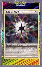 Energie Multicolore-HS:HeartGold SoulSilver-104/123-Carte Pokemon Neuve Français