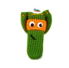 Orange ninja turtle cock sock willy warmer peter hea