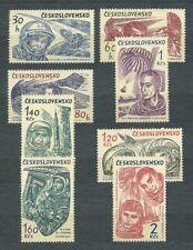 TCHECOSLOVAQUIE - 1964 YT 1331 à 1338 ESPACE - TIMBRES NEUFS** MNH LUXE