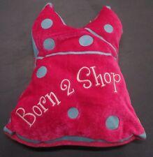 Born 2 Shop Pillow Plush Dress Shaped Pink 9.5 inch
