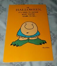 """New """"On HALLOWEEN, It's Hard to Decide What You're Going to Be..."""""""