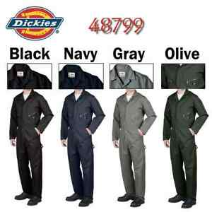 Dickies 48799 Long Sleeve COVERALLS Men Mechanic Cotton Blend Coverall - New