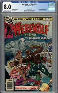 Werewolf By Night #39 CGC 8.0 VF Brother Voodoo Appearance