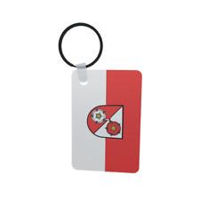 Schlüsselanhänger Flagge Fahne Dunningen Alu 40 x 57 mm