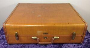 Vintage Samsonite Luggage Hard Shell Suitcase Style 4637