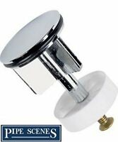 Brand New Chrome Plated Brass Pop Up Basin Sink Plug
