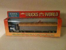 Ertl International Transtar Ii W/Grain Box Die Cast 1/64