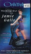 OrbiTrek Working Out with Jamie Gallo Video VHS Tape Sealed Full Cardio