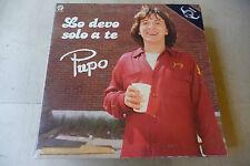 """PUPO""""LO DEVO SOLO A TE-disco 33 giri BABY It 1981"""""""