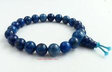 Lapis Lazuli Power Beads Bracelet Crystal Gemstone wrist mala healing chakra NEW