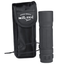 MONOCULAR 10x25 OUTDOOR CAMPING HIKING CADET TRAVEL HUNTING & CARRY POUCH BLACK