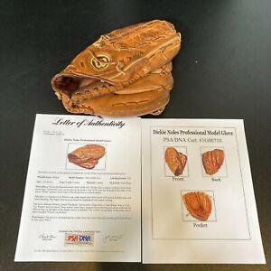 Dickie Noles Game Used 1981 Baseball Glove Philadelphia Phillies PSA DNA COA