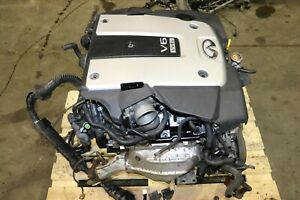 2010 2011 2012 2013 INFINITI G37 AWD VQ37HR VVEL 3.7L Engine Only Motor