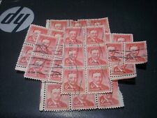 36 Vintage Theodore Roosevelt 6 Cent Stamps Used
