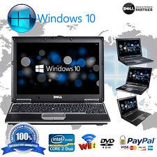 Dell Latitude Laptop PC Notebook Computer Fast Intel Dual Core 4GB DVD WiFi HD