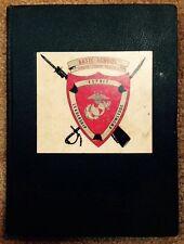 1955 1956 UNITED STATES MARINE CORPS SCHOOLS YEARBOOK, USMC, QUANTICO, VA