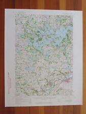 Lake Minnetonka Minnesota 1959 Original Vintage USGS Topo Map