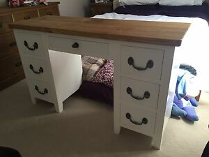 Solid Pine Dressing Table (Choice of Colours - can be made to any size)