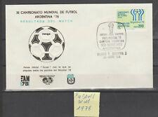 1 Brief :Fußball WM Argentinien 1978.Finale gegen Holland:RAR