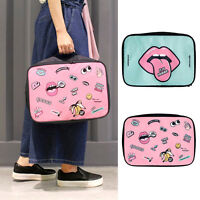 Cartoon Makeup Travel Cosmetic Bag Case Multifunction Pouch Toiletry Organizer