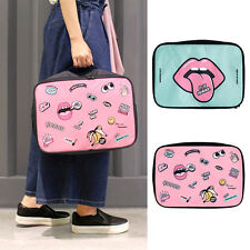 Cartoon Makeup Travel Cosmetic Bags Case Cosmetic Zip Pouch Toiletry Organizer