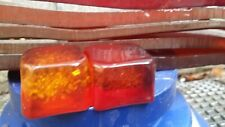 100 % Orig. DDR Würfel Material Cube rods red Bakelite 500 Gramm Glitzer RAR !!!