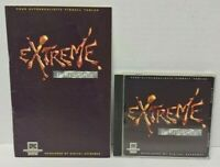 EXTREME PINBALL PC GAME + Manual 1995 CD - Mint Disc 1 Owner !