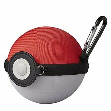 Pokemon Center Original Monster Ball Pouch w/ Carabiner Snap Ring JAPAN OFFICIAL
