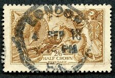 Great Britain #173d (Yellow Brown) Used. 2019 Scv $225.00