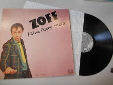 LP NDW Zoff - Keine Faxen mehr (10 Song) JUPITER / OIS
