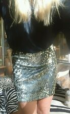 "Beck & Bridge ""Magic Nights Skirt"" Sequin Skirt, Size 8"