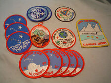 14 count lot boy scout patches north star district kansas city mo