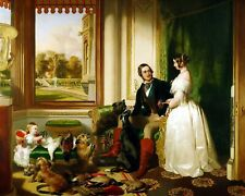 Windsor Castle in Modern Times by Edwin Landseer. Life Art . 11x14 Print