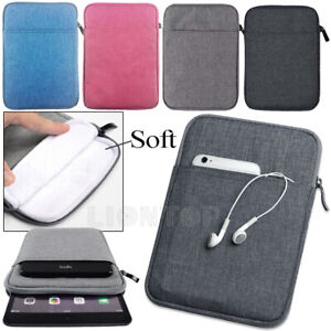 """For iPad 2 3 4 5 6 7/Mini/Air/Pro/ 9.7 2018/10.2"""" Portable Sleeve Pouch Bag Case"""