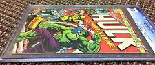 Incredible Hulk 181 CGC 9.0 grail comic book 1st WOLVERINE 1974 - old label