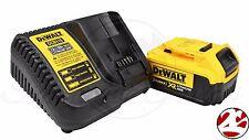 New DeWALT DCB204 20V Max XR 4.0 Ah Lithium Ion Battery DCB115 20 Volt Charger