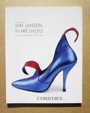 Christie's JAN JANSEN, IN HIS SHOES Auction Catalog BRAND NEW CONDITION