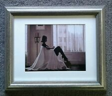 In Thoughts of You by Jack Vettriano Deluxe Framed & Mounted Art Print