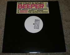 Beeper Drum N Bass Remixes The Count & Sinden~White Label Promo UK Import~NM LP