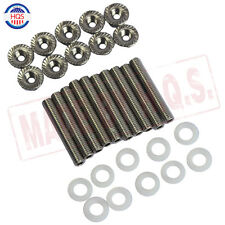 Intake Manifold Extended Stud Studs Bolt Kit B D H F b18 GSR SI For Honda Acura