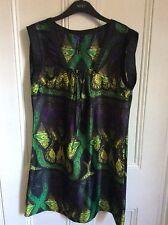Next Multi coloured sleeveless Tunic/ Dress